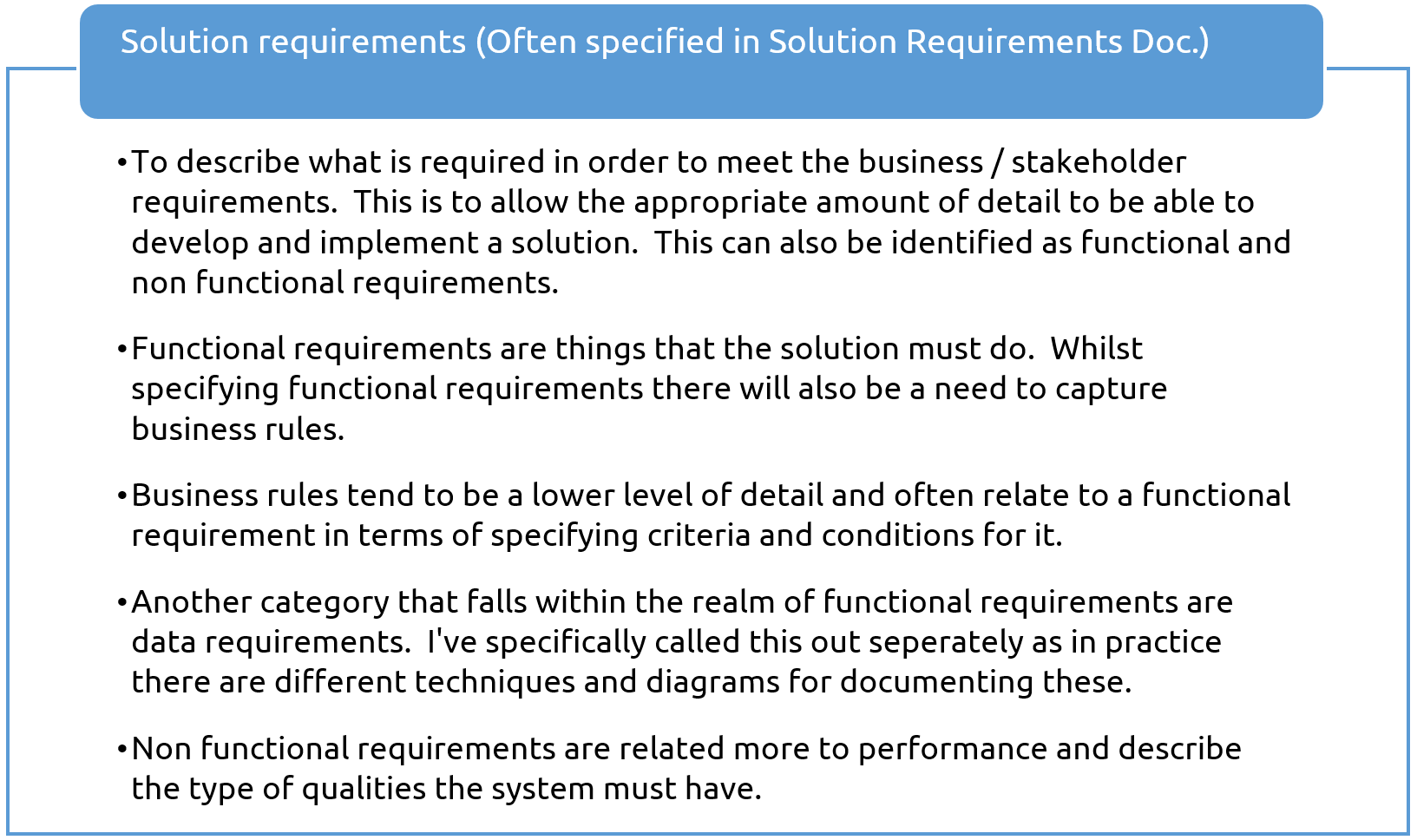 The Hierarchy Of Requirements And How It Impacts Requirements